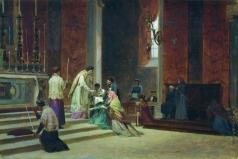 Бронников Ф. А. Католическая месса