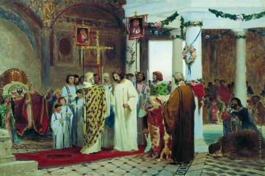 Бронников Ф. А. Крещение князя Владимира