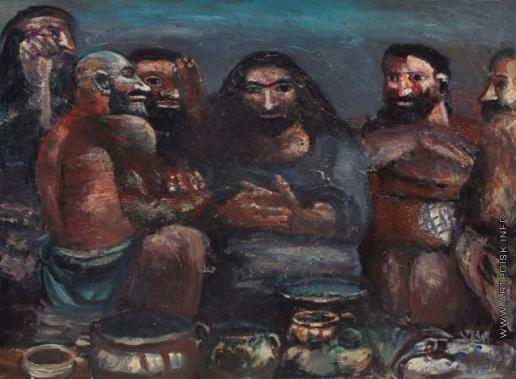 Табенкин Л. И. Христос с учениками