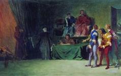 Бронников Ф. А. Мозаичисты перед судом трех в Венеции