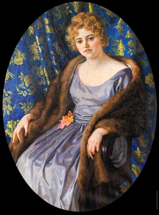 Богданов-Бельский Н. П. Женский портрет