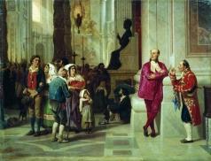 Бронников Ф. А. На приеме у Папы Римского