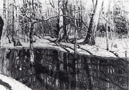 Жуковский С. Ю. Весной в лесу