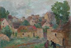 Фальк Р. Р. Вид деревни