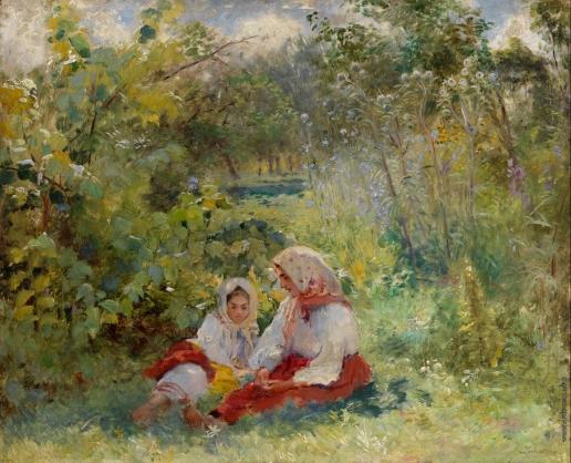 Маковский К. Е. В саду
