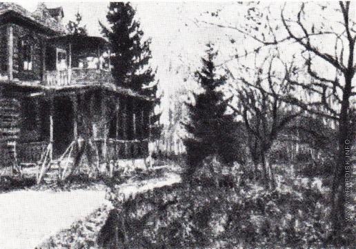 Жуковский С. Ю. Печальный сад