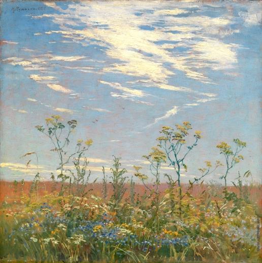 Гужавин М. М. Полевые цветы