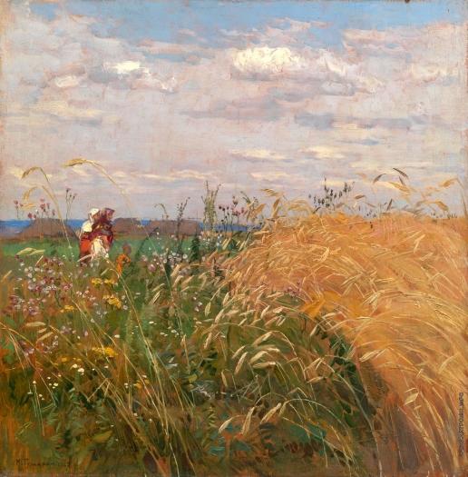 Гужавин М. М. Крестьянки в поле