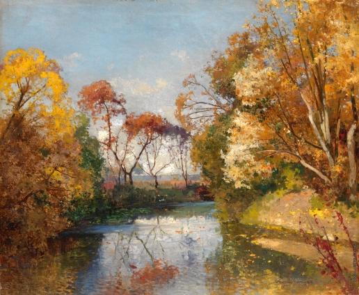 Шильдер А. Н. Осенний пейзаж