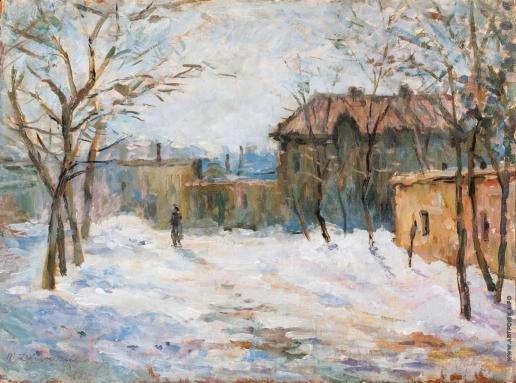 Дворников Т. Я. Зимний день