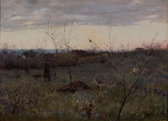 Дворников Т. Я. Осенний пейзаж
