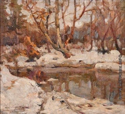 Дворников Т. Я. Зима