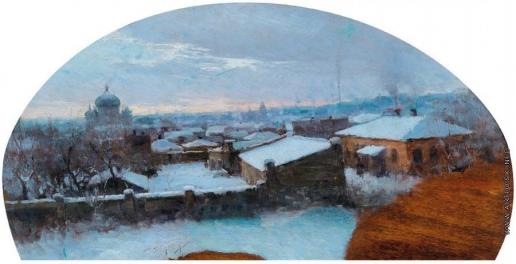 Дворников Т. Я. Зимний пейзаж