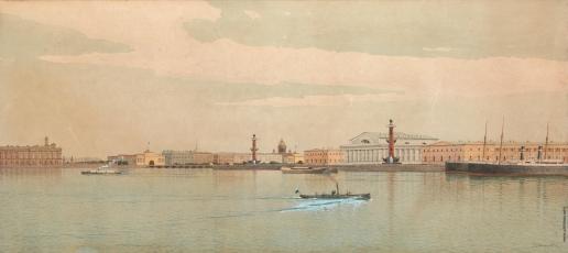 Клименко Ф. Ф. Вид Санкт-Петербурга со стороны Невы