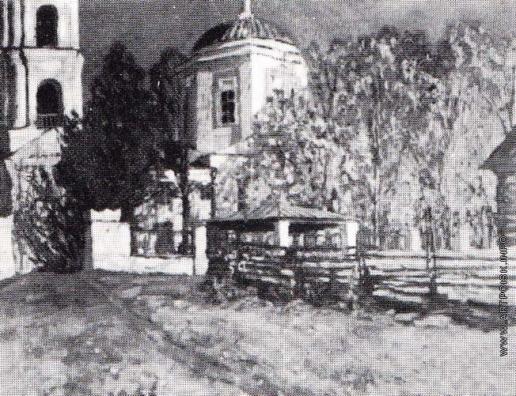 Жуковский С. Ю. Осень. Церковь в Звенигороде