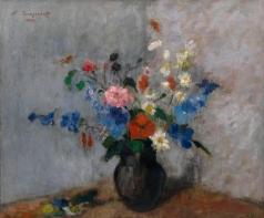 Синезубов Н. В. Натюрморт с цветами