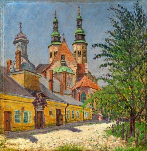 Богданов-Бельский Н. П. Вид на церковь