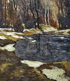 Жуковский С. Ю. Последний снег