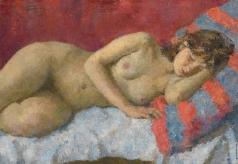 Цейтлин Г. И. Спящая обнаженная