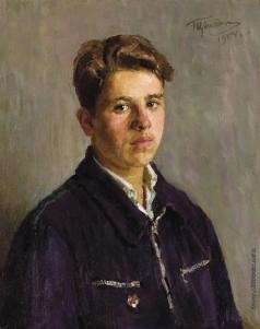 Цейтлин Г. И. Портрет студента