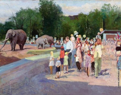 Николаев К. В. Московский зоопарк