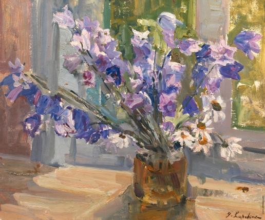 Лапшин Г. А. Цветы на окне