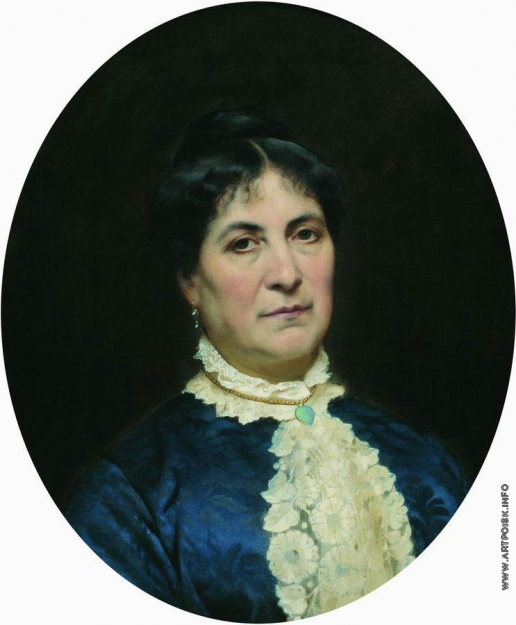 Бронников Ф. А. Портрет жены художника