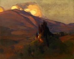 Эберлинг А. Р. В горах Тосканы