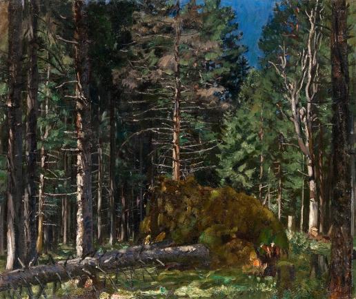 Жуковский С. Ю. Утро в сосновом лесу