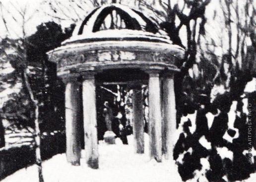Жуковский С. Ю. Беседка в Найденовском парке зимой