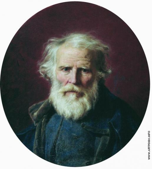 Бронников Ф. А. Портрет отца художника