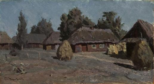 Жуковский С. Ю. Ночь в деревне