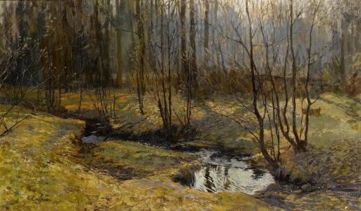 Жуковский С. Ю. Лесной ручей