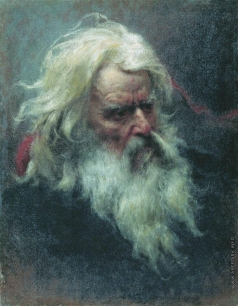 Бронников Ф. А. Портрет старика