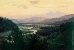 Батурин В. П. Пейзаж. Долина реки