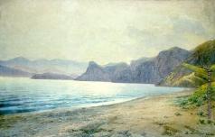 Батурин В. П. Морской берег. Коктебельская бухта