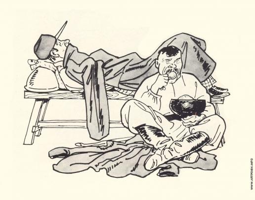 Базилевич А. Д. Иллюстрация к сказке