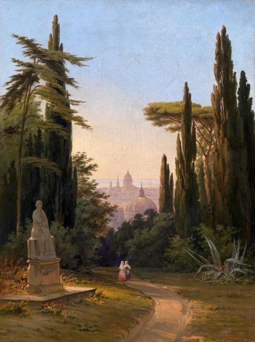 Раев В. Е. Сады в Риме