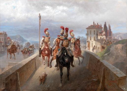 Виллевальде Б. П. Отступление наполеоновского войска