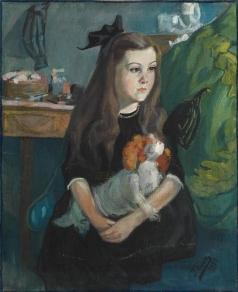 Келин П. И. Портрет девочки