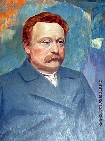 Труш И. И. Портрет Ивана Франко