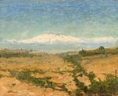 Труш И. И. Вид на гору Этна