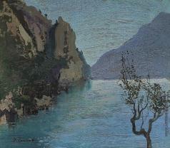 Труш И. И. Крымский пейзаж