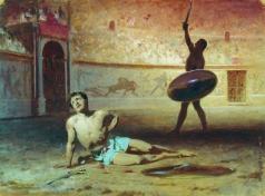Бронников Ф. А. Умирающий гладиатор