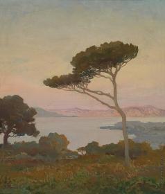 Труш И. И. Пейзаж с озером