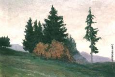Труш И. И. Горный пейзаж