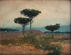 Труш И. И. Итальянский пейзаж