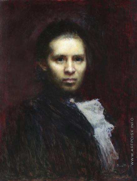 Труш И. И. Портрет Леси Украинки