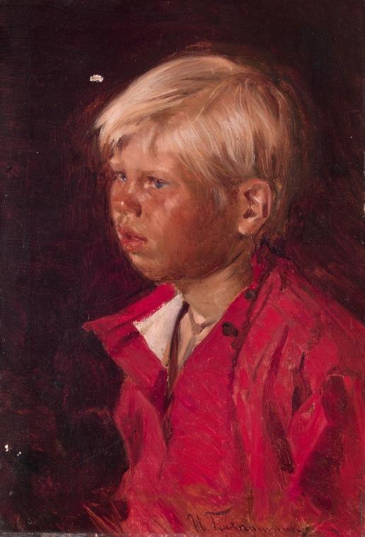 Прянишников И. М. Портрет мальчика
