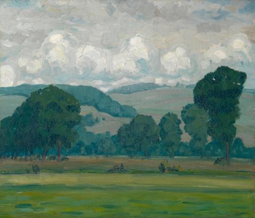 Труш И. И. Летний пейзаж
